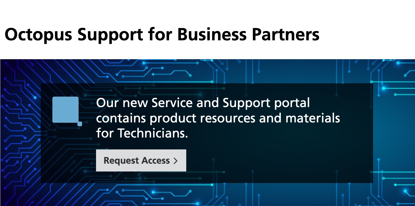 Octopus –  Ny informationsportal för service och support av Nashuatec