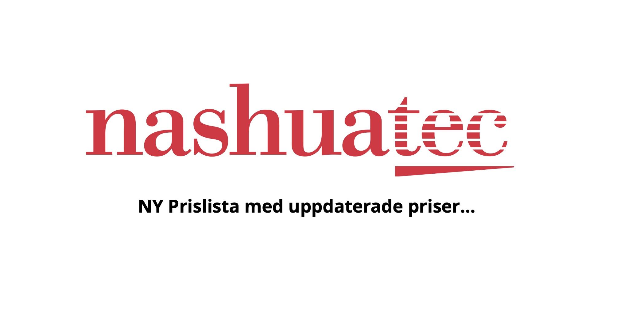 Nya Prislistor & Driftkalkyl!